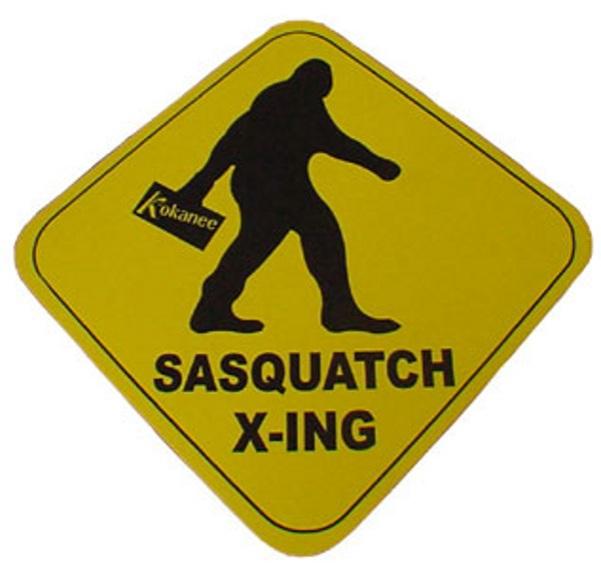 kokanee SasquatchSign