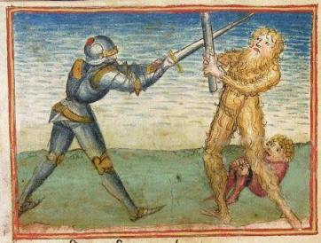 wodewose fighting