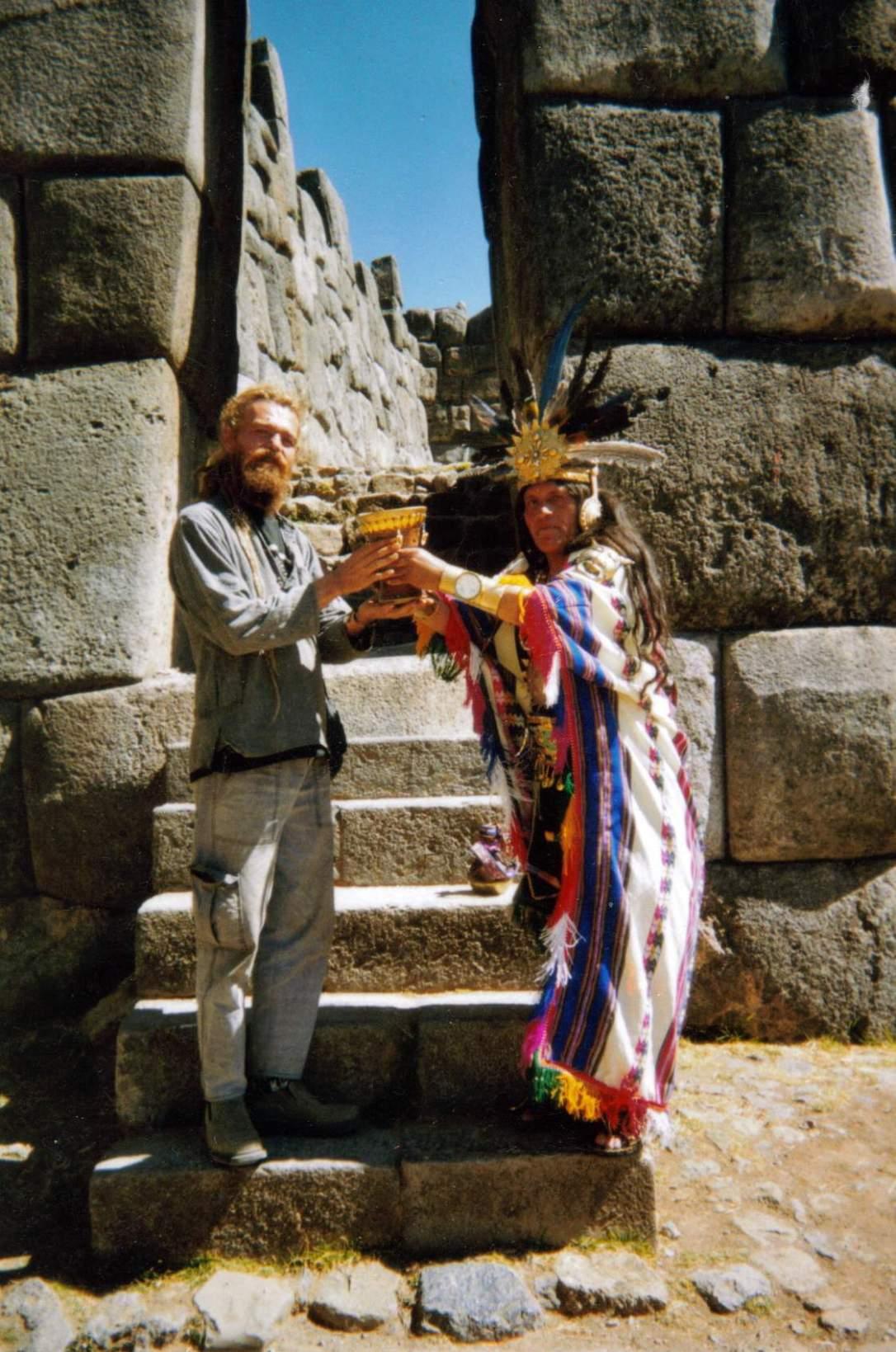 Sacsayhuaman-el shaman