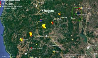 CA fires 07- 18