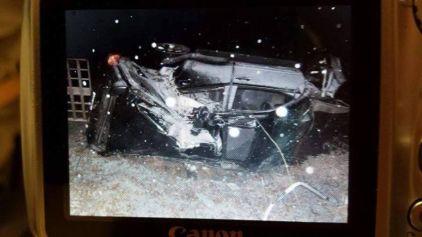 edie west car crash2