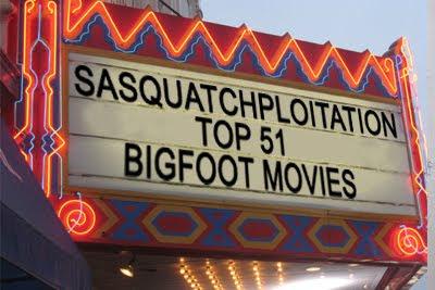 SASQUATPLOITATION movies