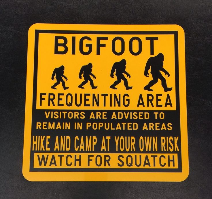 bigfoot-sasquatch-metal-signs