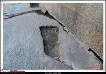 fossil 10 hanuman lepakshi andhra pradesh