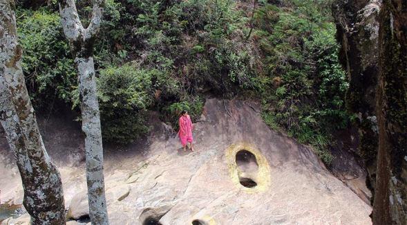 fossil 12 hanuman footprint sri lanka