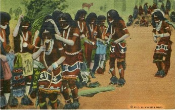 Hopi-Indian-Snake dance