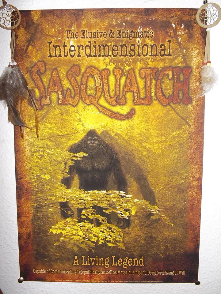imterdimensional Sasquatch
