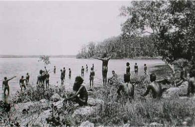 1900 Miguntyun people QUandamooka people moreton bay